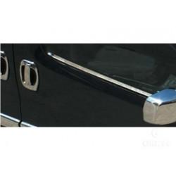 Window trim cover chrom alu for Peugeot BIPPER 2008-[...]