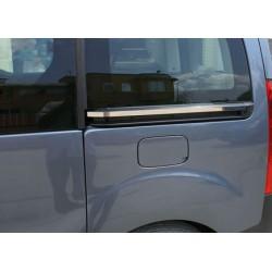 Moulding chrome sliding door notch Peugeot PARTNER (II) TEPEE 2008-[...]