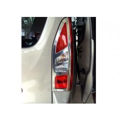Contour chrome for rear lights Peugeot PARTNER (II) TEPEE Facelift 2012-[...]