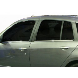 Window trim cover chrom alu for Renault SYMBOL II 2009-2013