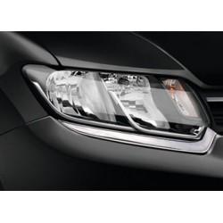 Contour chrome front headlights Renault SYMBOL III 2013-[...]