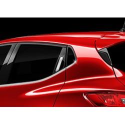 Chrome for Renault CLIO IV 3-door - Keyless door handle covers