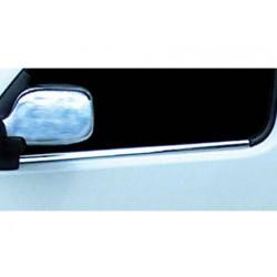 Window trim cover chrom alu for Renault KANGOO I Facelift 2004-2007