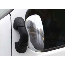 Covers mirrors stainless chrome for Renault TRAFIC II 2001 - 2010