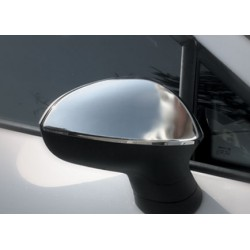 Covers mirrors stainless chrome for Seat LEON II 2009 - 2012
