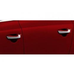 Deco for Seat ALHAMBRA II chrome door handle covers