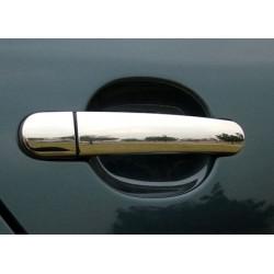 Chrome for Skoda OCTAVIA II (A5) door handle covers