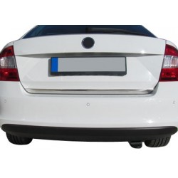 Rear bumper sill cover for Skoda RAPID 2012-[...]