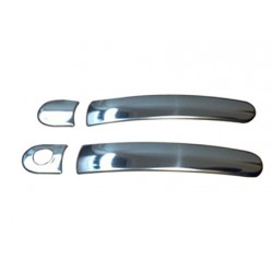 Deco for Skoda ROOMSTER chrome door handle covers