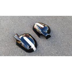 Coques de rétroviseurs led pour Mercedes ML 1997-2001 - Noir