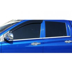 Window trim cover chrom alu for Ssangyong ACTYON SPORTS 2006-[...]