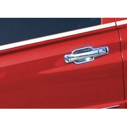 Ssangyong KYRON Facelift chrome door handle covers