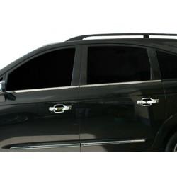 Window trim cover chrom alu for Ssangyong RODIUS 2007-[...]