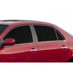 Window trim cover chrom alu for Toyota COROLLA 2006-2013