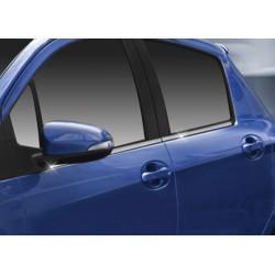 Window trim cover chrom alu for 2012 Toyota YARIS III-[...]