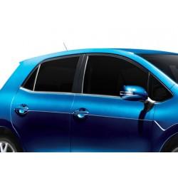 Window trim cover chrom alu for Toyota AURIS I 2007-2013