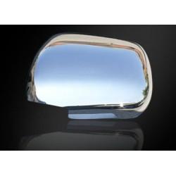 Covers mirrors stainless chrome for Toyota LAND CRUISER PRADO 120 2003-2009
