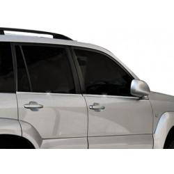 Window trim cover chrom alu for Toyota LAND CRUISER PRADO 120 2003-2009