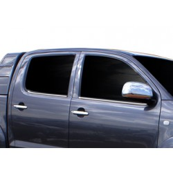 Window trim cover chrom alu for Toyota HILUX 2005-[...]