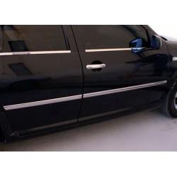 Covers doors for VW BORA 1998-2004 chrome rods