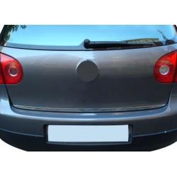 Trunk chrome alu for VW GOLF V 2003-2009 rod