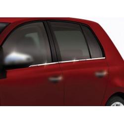 Window trim cover chrom alu for VW GOLF VI 2010-2013