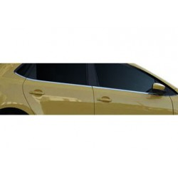 Window trim cover chrom alu for VW POLO V 2009-[...]
