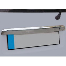 Handle trunk chrome for VW CADDY 2003-[...] - Double back door covers