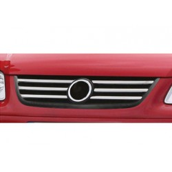 Rod's grille chrome for VW CADDY LIFE 2007-2010