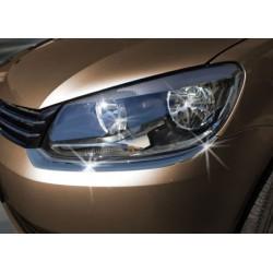 Contour chrome front headlights VW CADDY Facelift 2010-[...]