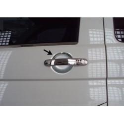 Internal cache chrome door handles for VW T5 TRANSPORTER 2003-2010 - 3 doors