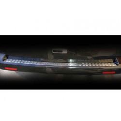 Rear bumper sill cover alu for VW T5 TRANSPORTER 2003-2010