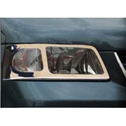 Contour chrome front headlights VW T5 TRANSPORTER 2003-2010
