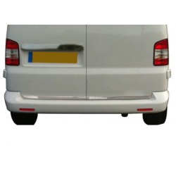 Rear bumper sill cover for VW T5 TRANSPORTER 2010-[...] Double doors