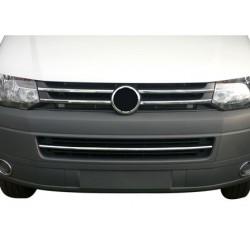 Chrome Rod grille Kit for VW T5 TRANSPORTER 2010-[...]