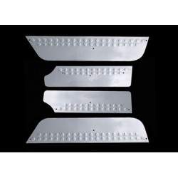Door sill cover for VW T5 TRANSPORTER 2010-[...] 3 pieces