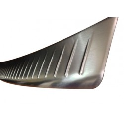 Rear bumper sill cover alu for VW T5 TRANSPORTER 2010-[...]