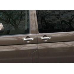 For VW T5 CARAVELLE 4 door 2003-2010 chrome door handle covers