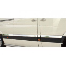Covers wands doors chrome for VW T5 CARAVELLE short 2003 - 2010