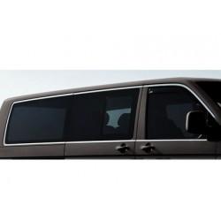 Outline of window chrome alu for VW T5 CARAVELLE 2003-2010