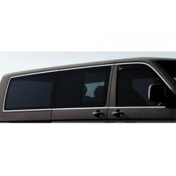 Outline of window chrome alu for VW T5 MULTIVAN II Double doors sliding 2010-[...]