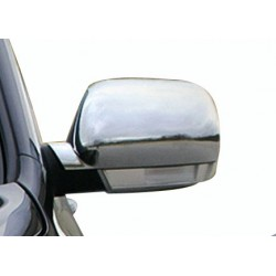 Chrom mirror cover stainless steel for VW TOUAREG 2003-2007