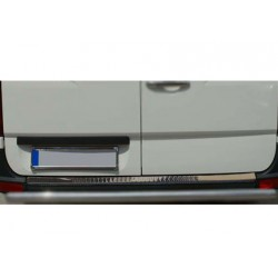 Rear bumper sill cover alu for VW CRAFTER 2006-[...]