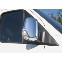 Covers mirrors stainless chrome for VW CRAFTER 2012-[...]