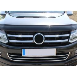 Wide Rod grille chrome for VW AMAROK 2010-[...]