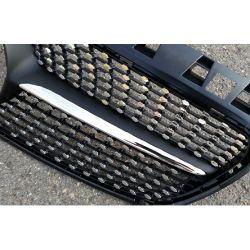 Calandre sport noire matte pour Mercedes classe A W176