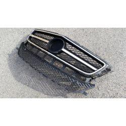 Calandre sport pour Mercedes CLS W218 - Noir vernie/Chrome