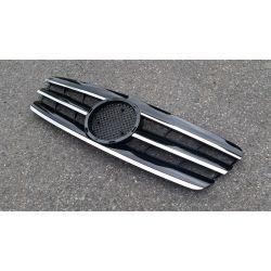 Calandre pour Mercedes classe C W203 - Noire Chrome