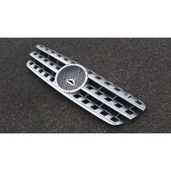 Calandre pour Mercedes ML W163 - Argent Chrome
