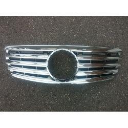 Calandre pour Mercedes Classe E W211 2002-2006 - Chrome